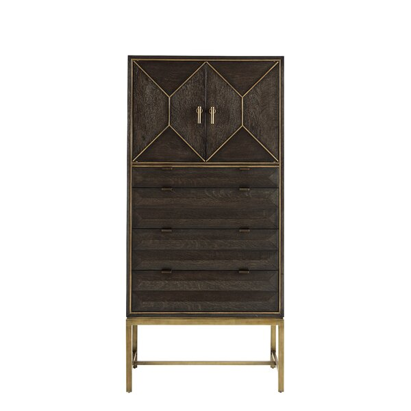 Sherpa 6 Drawer Combo Dresser by Wrought Studio