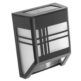 Shop For Solar 1-Light LED Deck Light By Paradise Garden Lighting