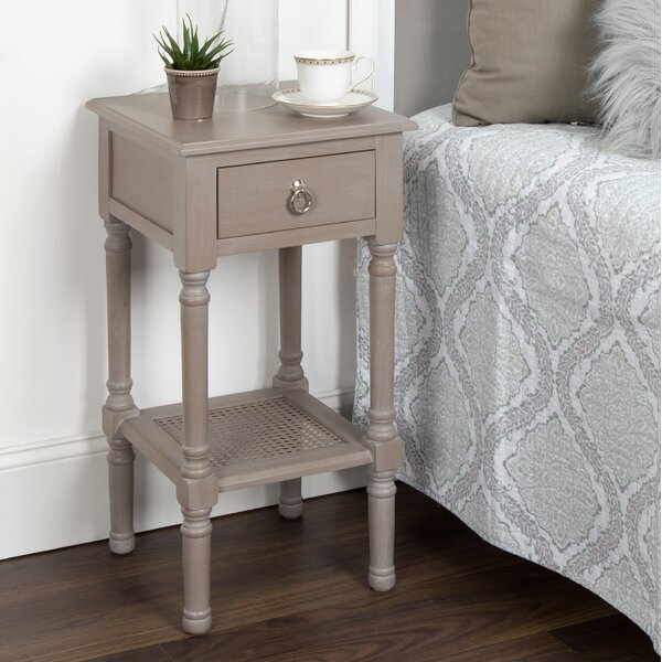 Dedman Solid Wood Casual Nightstand End Table By Ophelia & Co. 2019 Coupon