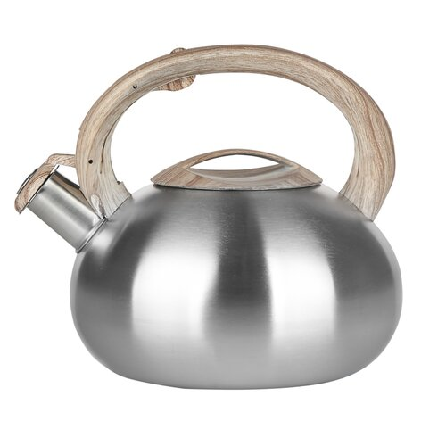 Massa 2.5L Stainless Steel Whistling Stovetop Kettle Symple