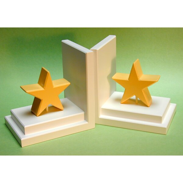 Star Book Ends (Set of 2) by One World