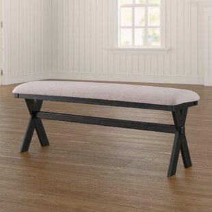 Manitou Transitional Wood/Metal Bench