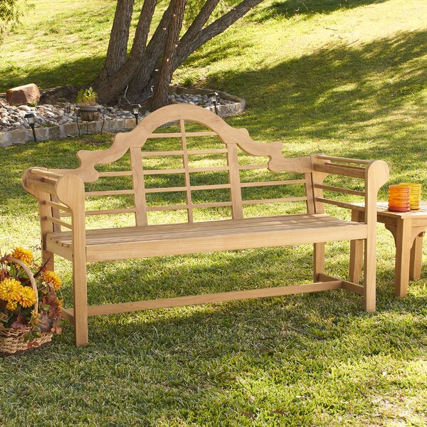 Lutyens Teak Garden Bench by Wildon Home ®