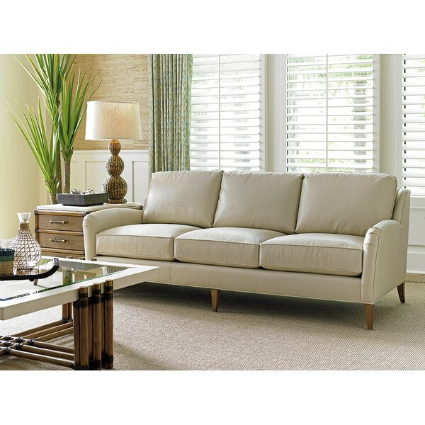 Cute Style Twin Palms Leather Sofa Get The Deal! 70% Off