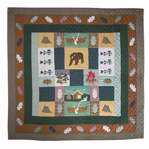 Cabin Single Reversible Quilt