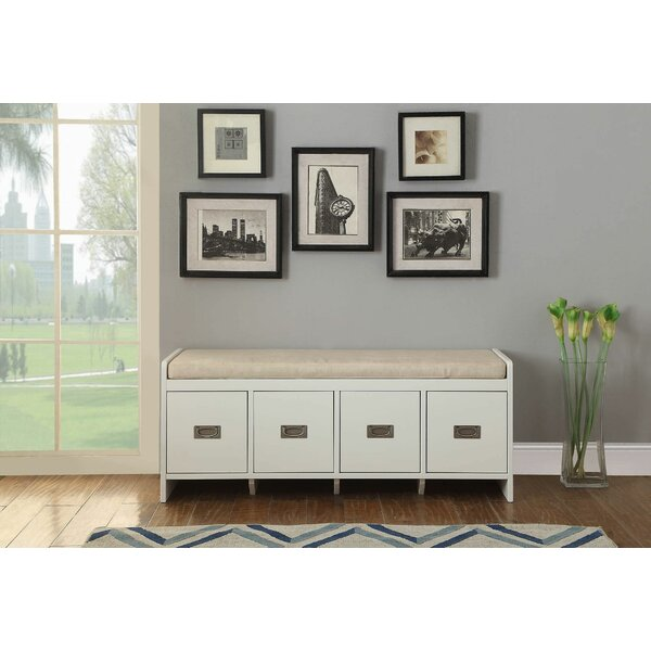 Nickelsberg Drawer Storage Bench