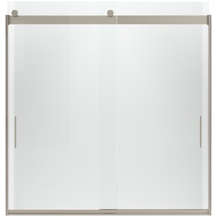Levity 39'' x 79'' Double Sliding Panel for Shower Door with CleanCoat� Technology