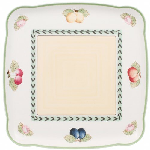 French Garden Charm and Breakfast Square Platter by Villeroy & Boch