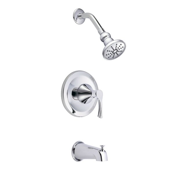 Antioch Volume Pressure Balance Single Function Tub and Shower Faucet Trim by Danze®