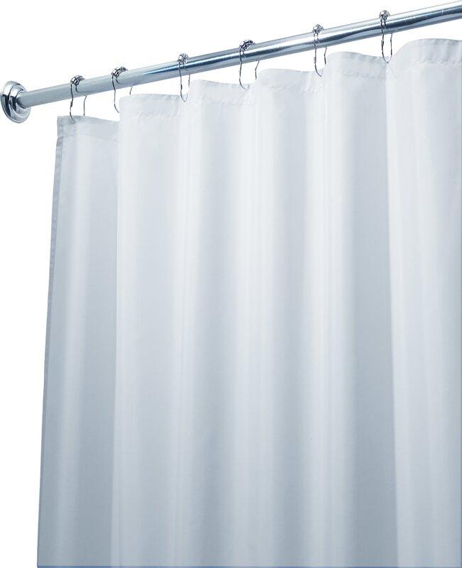 Single Stall Shower Curtain | Wayfair