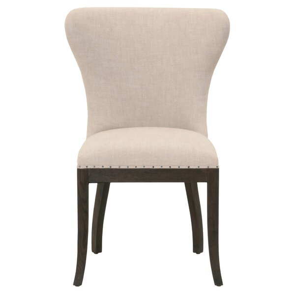 Cisco Upholstered Dining Chair (Set of 2) by Charlton Home