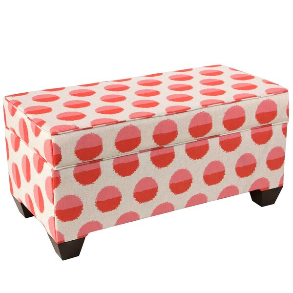 Autumn Upholstered Storage Bench by Latitude Run