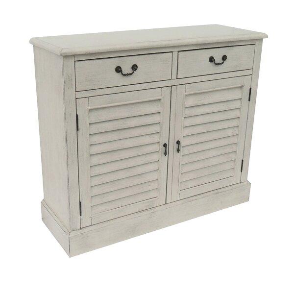 2 Door 2 Drawer Shetter Cabinet by Lamps Per Se Lamps Per Se
