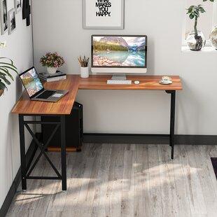Compare prices Dipama L-Shaped Computer Desk ByWinston Porter