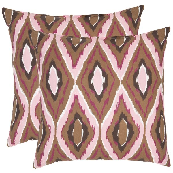 Tristan Cotton Throw Pillow (Set of 2) by Safavieh