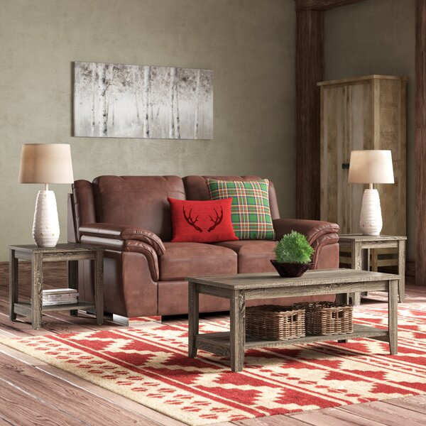 Balderston 3 Piece Coffee Table Set by Laurel Foun