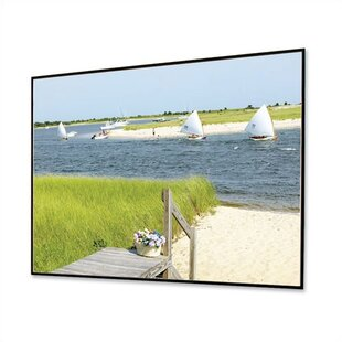 Shop For HiDef Clarion Gray 106 diagonal Fixed Frame Projection Screen By Draper