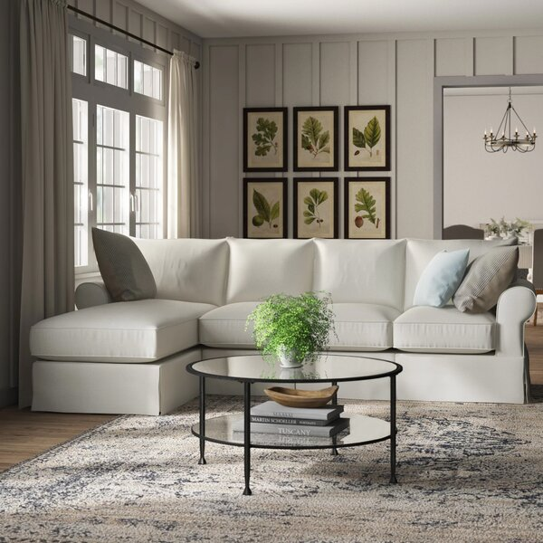 Best Quality Online Jameson Upholstered Sofa with Chaise by Birch Lane Heritage by Birch Lane�� Heritage