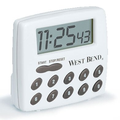 West Bend Electronic Stopwatch/Timer by West Bend