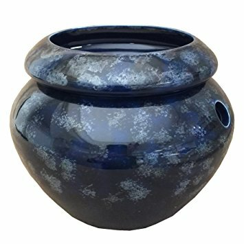 Self-Watering Ceramic Pot Planter by Maryland China