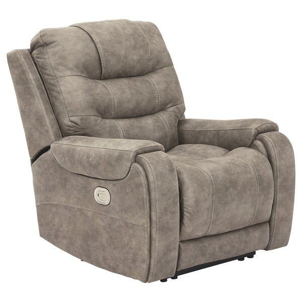 Anguilla Faux Leather Power Rocker Recliner W003246618