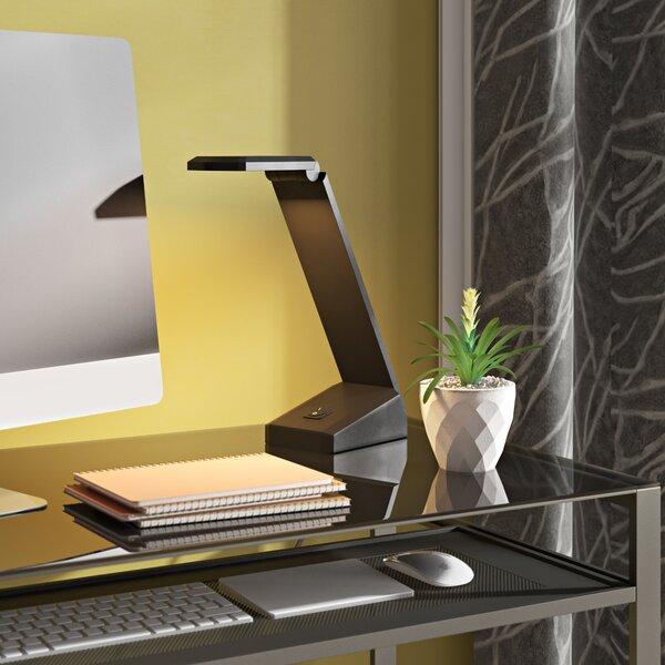 Mike Single Light Desk Lamp by Latitude Run