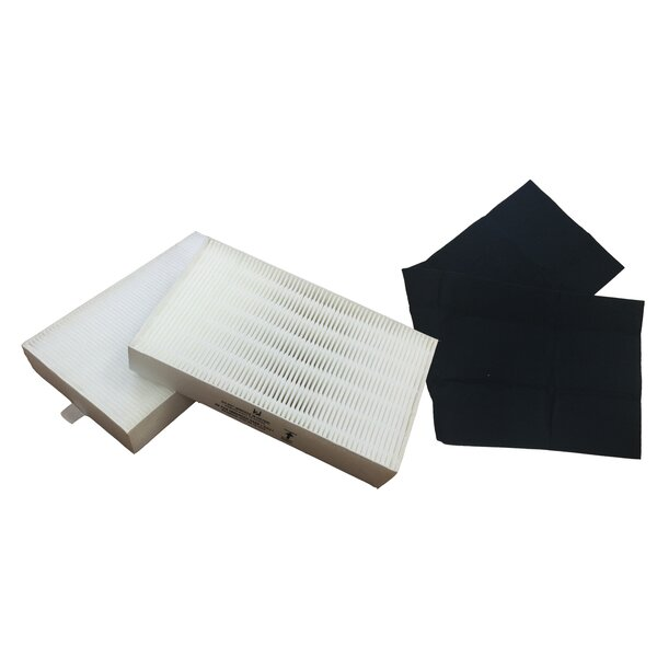 Honeywell Air Purifier Filter and Carbon Filter Kit by Crucial
