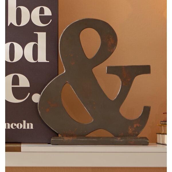 Wood Symbol Letter Block by Mercury Row