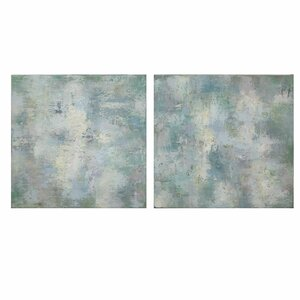 Cloudy Days 2 Piece Painting Print Set by Uttermost