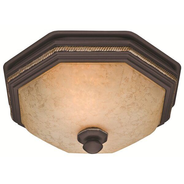 Belle Meade 80 CFM Bathroom Fan with Light by Hunter Home Comfort