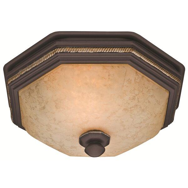 Belle Meade 80 CFM Bathroom Fan with Light by Hunt