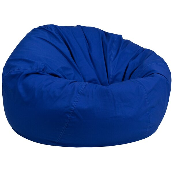 Solid Bean Bag Chair by Harriet Bee