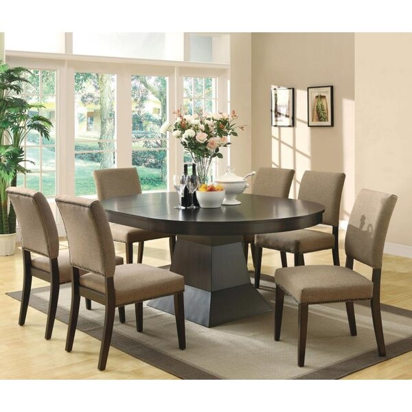 Lefferts 7 Piece Dining Set by Alcott Hill