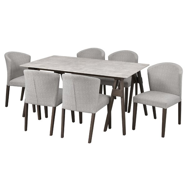 Macclesfield 7 Piece Dining Set by Gracie Oaks