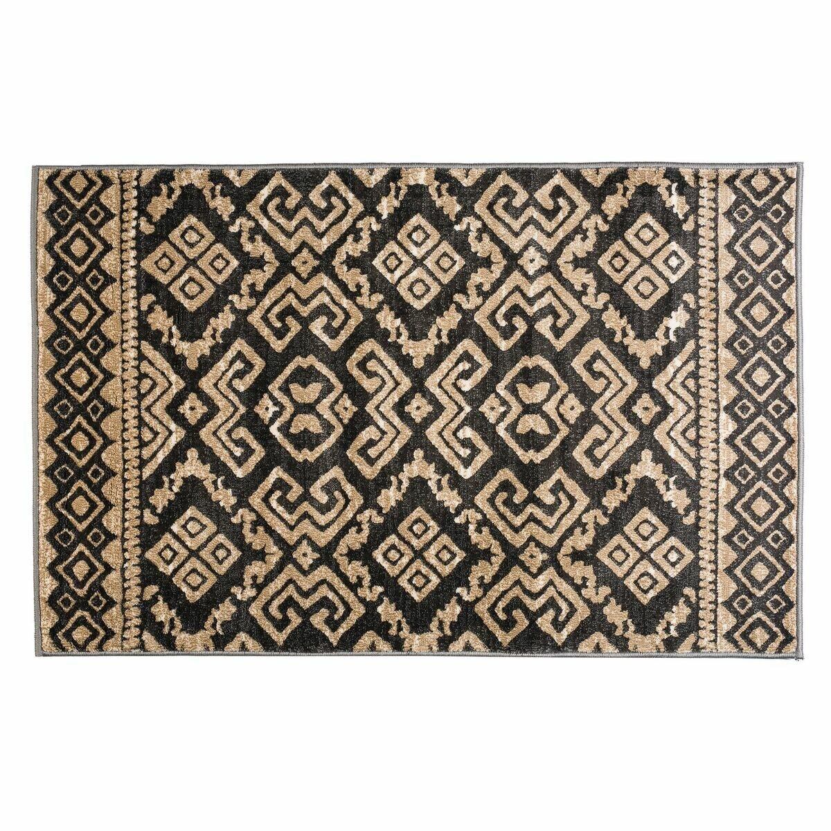 World Menagerie Elle Geometric Dark Gray Area Rug Reviews Wayfair