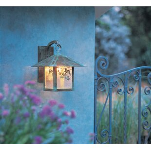 Best Price Evergreen 1-Light Outdoor Wall Lantern By Arroyo Craftsman