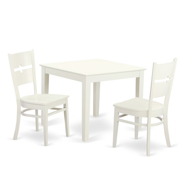 @  Cobleskill 3 Piece Dining Set By Alcott Hill 2019 Coupon