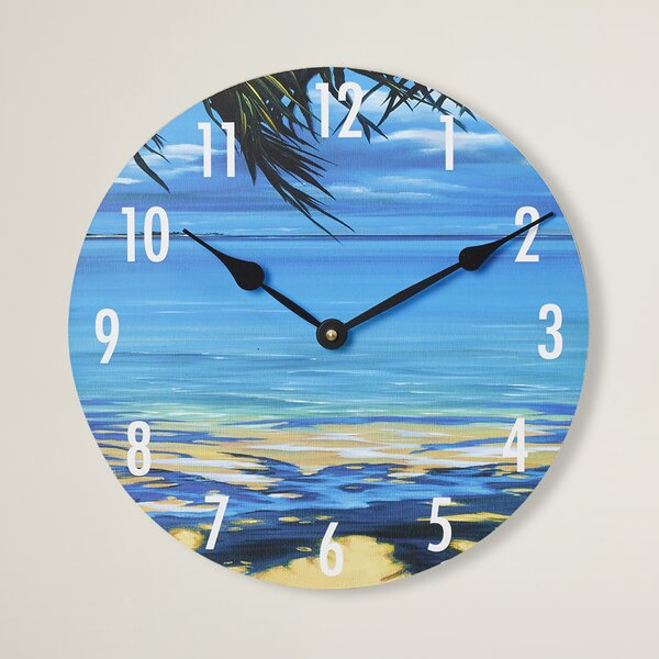 12 Wall Clock by Bay Isle Home