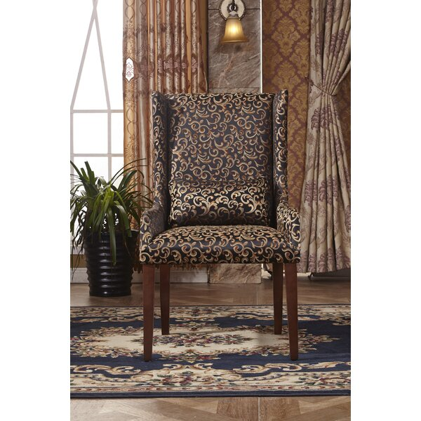 Classic Wingback Chair by Corzano Designs