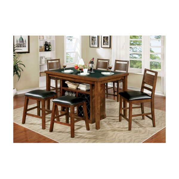 Soperton Pub Dining Table by Millwood Pines