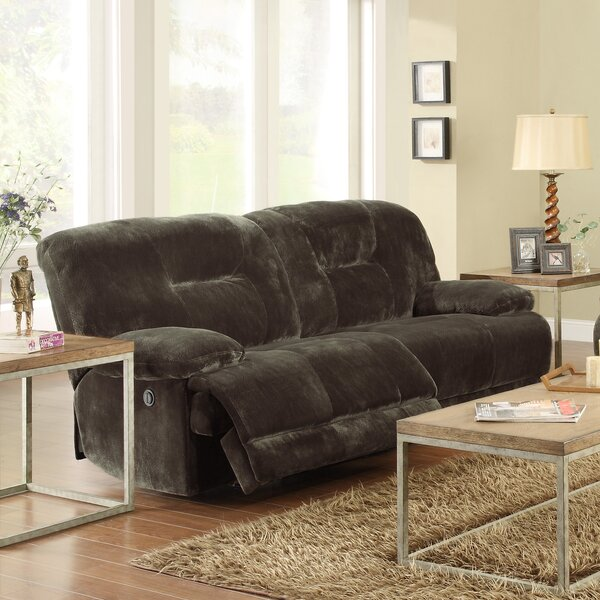 Geoffrey Double Reclining Sofa by Woodhaven Hill