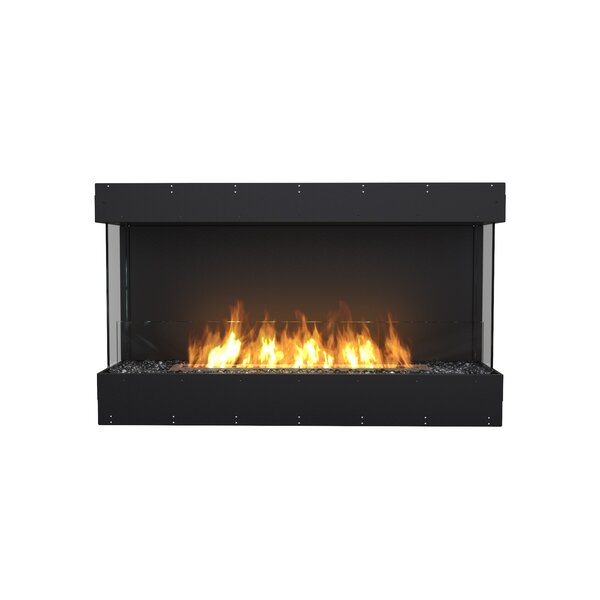 FLEX50-Bay Wall Mounted Bio-Ethanol Fireplace Insert by EcoSmart Fire