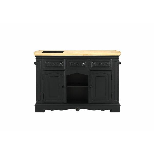 Ribeiro Antique Kitchen Island by Canora Grey