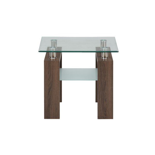 Heiden End Table by Wrought Studio