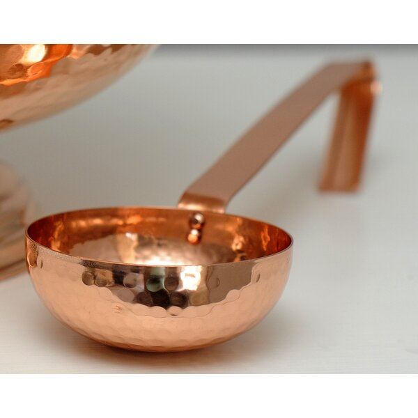 Hammered Copper Ladle by Alchemade