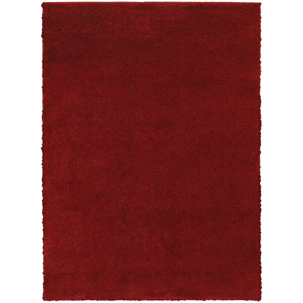 Hanson Red Area Rug by Threadbind