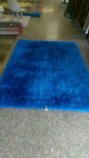 Bathford Hand Tufted Electro Blue Area Rug by Harriet Bee
