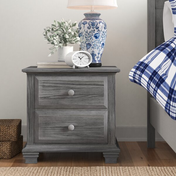 Ranchester 2 Drawer Nightstand by Three Posts Baby & Kids