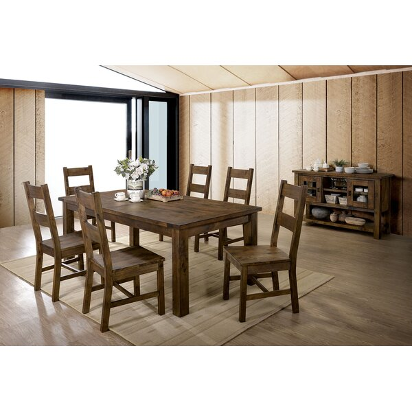 Brickhouse 7 Piece Dining Set by Loon Peak