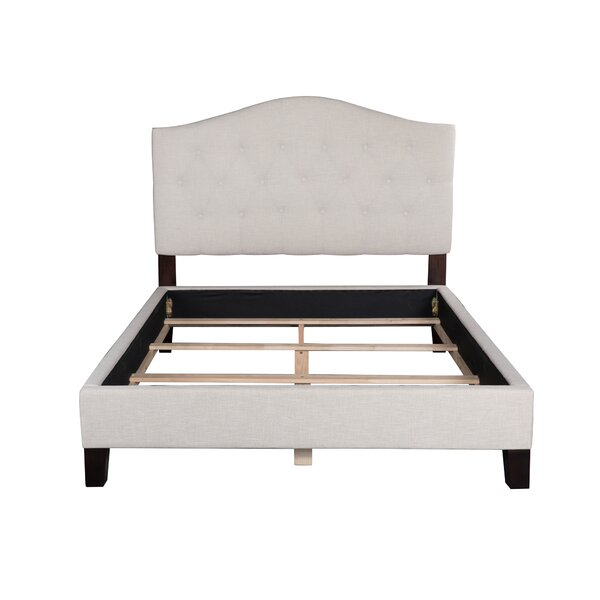 Anguila Upholstered Standard/Platform Bed by Rosecliff Heights